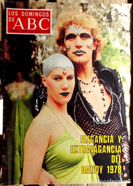 Coleccionismo de Los Domingos de ABC: Los domingos de ABC, 18 suplementos semanales 1974-79 excelente estado - CLC - Foto 2 - 100461491