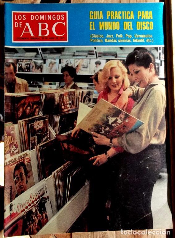 Coleccionismo de Los Domingos de ABC: Los domingos de ABC, 18 suplementos semanales 1974-79 excelente estado - CLC - Foto 3 - 100461491
