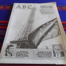 Coleccionismo de Los Domingos de ABC: ABC 20 SEPTIEMBRE 1992. EUROPA PENDIENTE DE FRANCIA, F.C. BARCELONA GOLEA AL ATLÉTICO DE MADRID 1-4.. Lote 100491779
