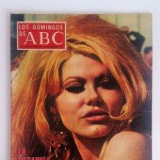 Colecionismo de Los Domingos de ABC: LOS DOMINGOS DE ABC, ENERO 1973. SUPERCEREBROS - MANUEL VELAZQUEZ REAL MADRID - CHARO BAEZA Y MÁS.. Lote 101380599