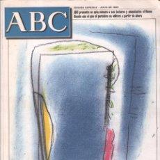 Coleccionismo de Los Domingos de ABC: ABC A LAS PUERTAS DEL 2000 / EDICION ESPECIAL , JULIO DE 1999 , MUNDI/REVISTA-048. Lote 103005567