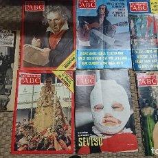 Coleccionismo de Los Domingos de ABC: LOTE LOS DOMINGOS DE ABC, 1976,1977,1978. Lote 106652587