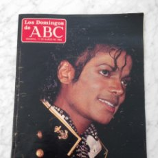 Coleccionismo de Los Domingos de ABC: LOS DOMINGOS DE ABC - 1984 - MICHAEL JACKSON, VICTORIA ABRIL. Lote 109287963