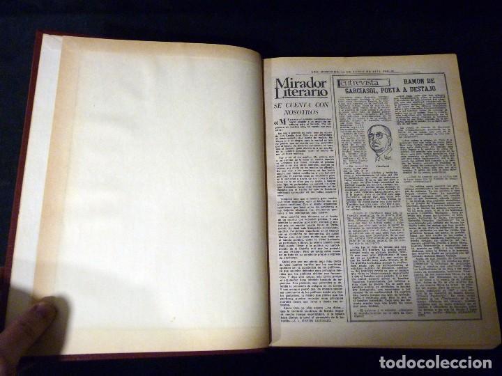 Coleccionismo de Los Domingos de ABC: LOS DOMINGOS ABC. 16 TOMOS. 1957-1984. ARTE Y CULTURA - Foto 15 - 110022703