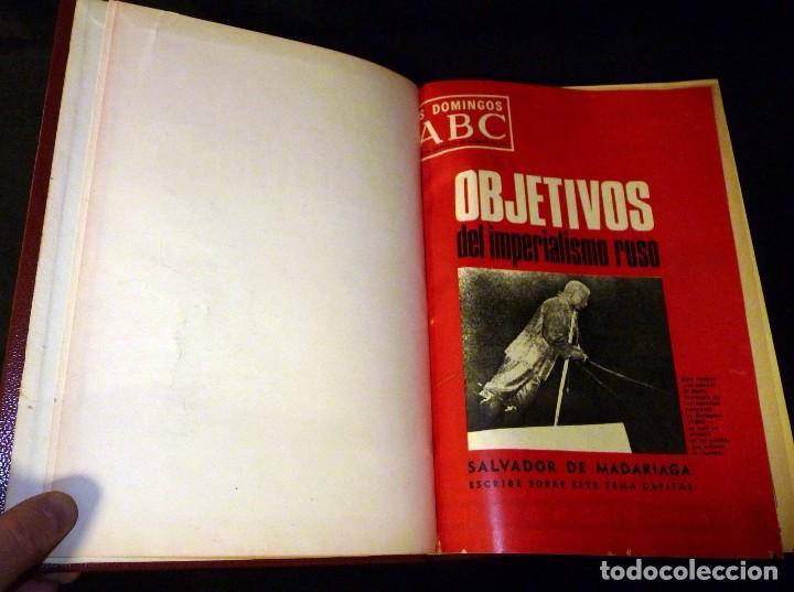 Coleccionismo de Los Domingos de ABC: LOS DOMINGOS ABC. 16 TOMOS. 1957-1984. ARTE Y CULTURA - Foto 16 - 110022703