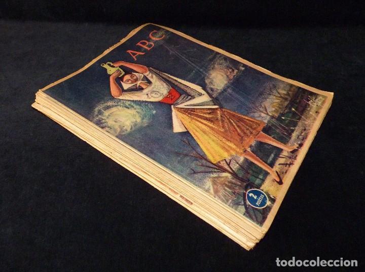 ABC EXTRA DOMINGO. 17 REVISTAS. JULIO A DICIEMBRE 1958. DOMINICAL DOMINGOS (Coleccionismo - Revistas y Periódicos Modernos (a partir de 1.940) - Los Domingos de ABC)