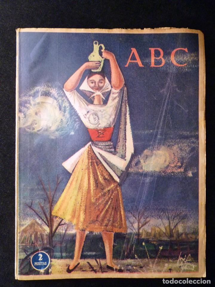 Coleccionismo de Los Domingos de ABC: ABC EXTRA DOMINGO. 17 REVISTAS. JULIO A DICIEMBRE 1958. DOMINICAL DOMINGOS - Foto 2 - 110230339