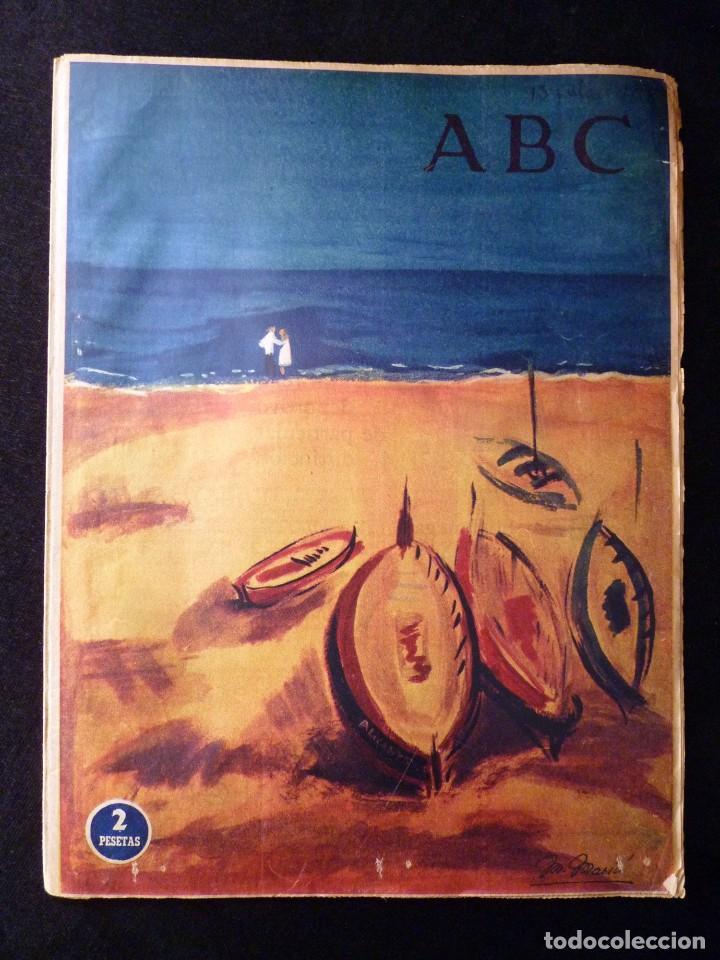 Coleccionismo de Los Domingos de ABC: ABC EXTRA DOMINGO. 17 REVISTAS. JULIO A DICIEMBRE 1958. DOMINICAL DOMINGOS - Foto 3 - 110230339