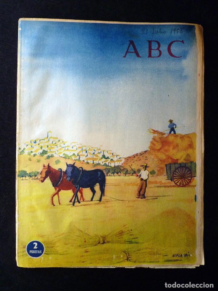 Coleccionismo de Los Domingos de ABC: ABC EXTRA DOMINGO. 17 REVISTAS. JULIO A DICIEMBRE 1958. DOMINICAL DOMINGOS - Foto 4 - 110230339