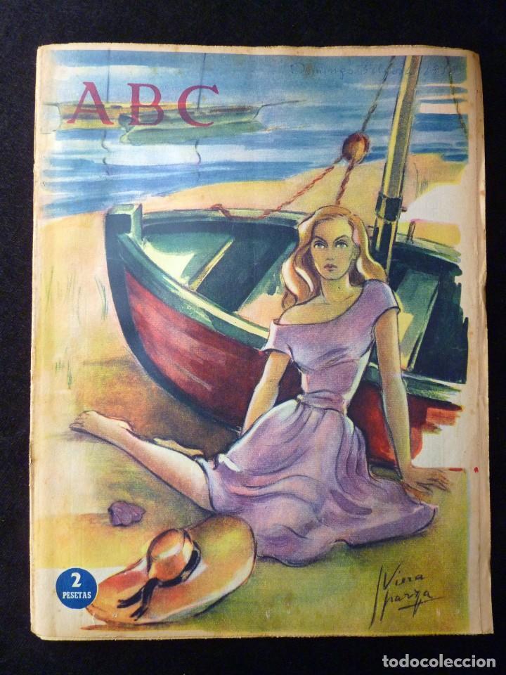 Coleccionismo de Los Domingos de ABC: ABC EXTRA DOMINGO. 17 REVISTAS. JULIO A DICIEMBRE 1958. DOMINICAL DOMINGOS - Foto 6 - 110230339