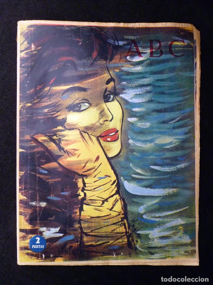 Coleccionismo de Los Domingos de ABC: ABC EXTRA DOMINGO. 17 REVISTAS. JULIO A DICIEMBRE 1958. DOMINICAL DOMINGOS - Foto 7 - 110230339