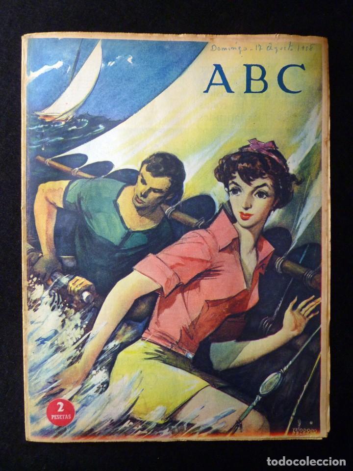 Coleccionismo de Los Domingos de ABC: ABC EXTRA DOMINGO. 17 REVISTAS. JULIO A DICIEMBRE 1958. DOMINICAL DOMINGOS - Foto 8 - 110230339