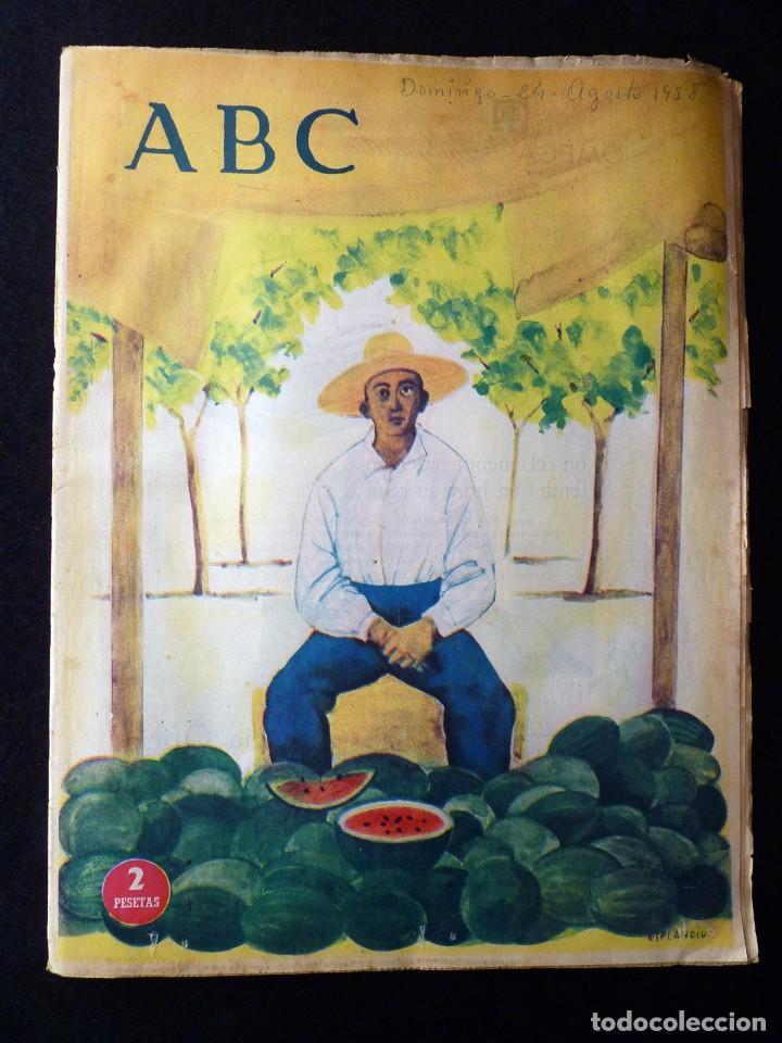 Coleccionismo de Los Domingos de ABC: ABC EXTRA DOMINGO. 17 REVISTAS. JULIO A DICIEMBRE 1958. DOMINICAL DOMINGOS - Foto 9 - 110230339