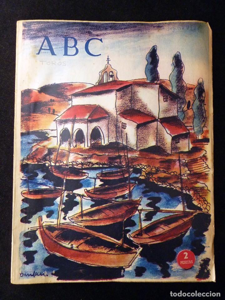 Coleccionismo de Los Domingos de ABC: ABC EXTRA DOMINGO. 17 REVISTAS. JULIO A DICIEMBRE 1958. DOMINICAL DOMINGOS - Foto 11 - 110230339