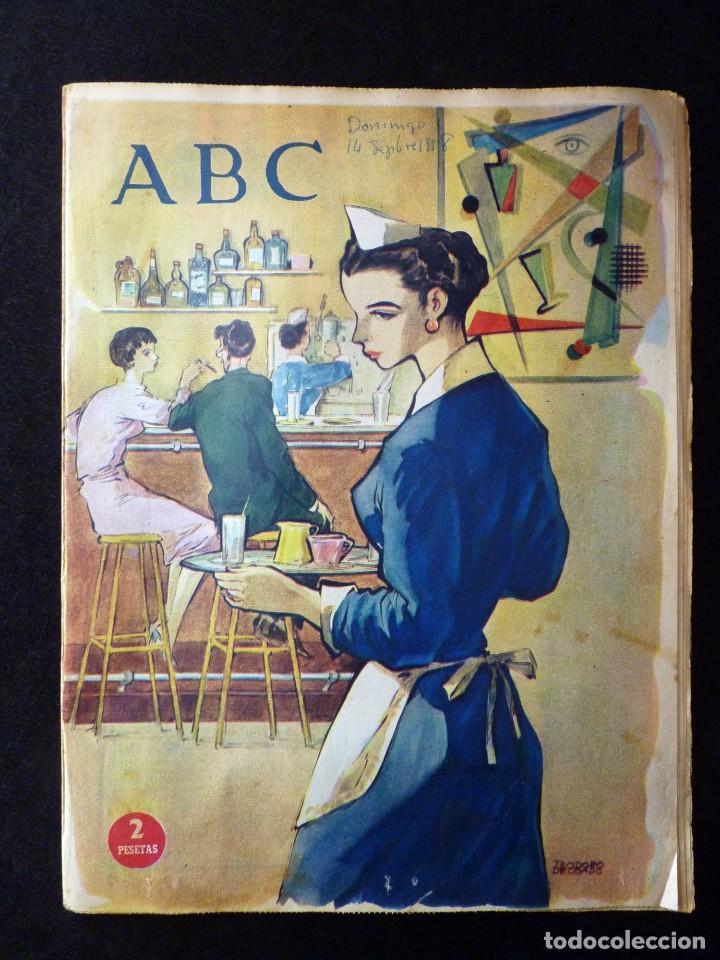 Coleccionismo de Los Domingos de ABC: ABC EXTRA DOMINGO. 17 REVISTAS. JULIO A DICIEMBRE 1958. DOMINICAL DOMINGOS - Foto 12 - 110230339