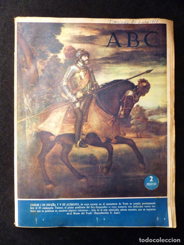 Coleccionismo de Los Domingos de ABC: ABC EXTRA DOMINGO. 17 REVISTAS. JULIO A DICIEMBRE 1958. DOMINICAL DOMINGOS - Foto 13 - 110230339
