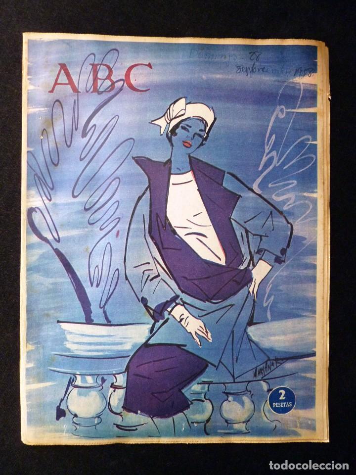 Coleccionismo de Los Domingos de ABC: ABC EXTRA DOMINGO. 17 REVISTAS. JULIO A DICIEMBRE 1958. DOMINICAL DOMINGOS - Foto 14 - 110230339
