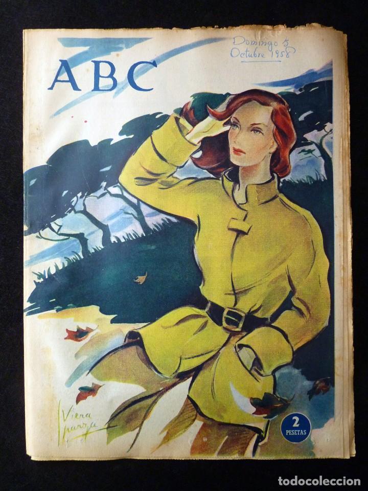 Coleccionismo de Los Domingos de ABC: ABC EXTRA DOMINGO. 17 REVISTAS. JULIO A DICIEMBRE 1958. DOMINICAL DOMINGOS - Foto 15 - 110230339