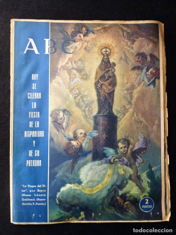 Coleccionismo de Los Domingos de ABC: ABC EXTRA DOMINGO. 17 REVISTAS. JULIO A DICIEMBRE 1958. DOMINICAL DOMINGOS - Foto 16 - 110230339