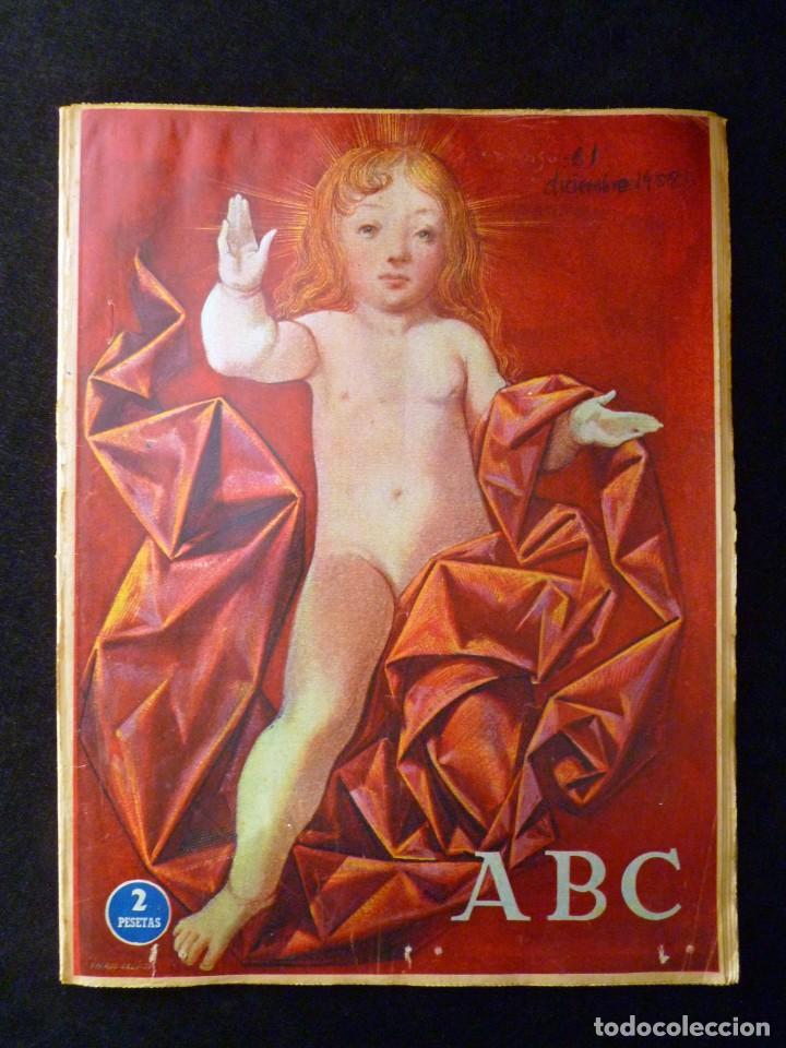 Coleccionismo de Los Domingos de ABC: ABC EXTRA DOMINGO. 17 REVISTAS. JULIO A DICIEMBRE 1958. DOMINICAL DOMINGOS - Foto 17 - 110230339