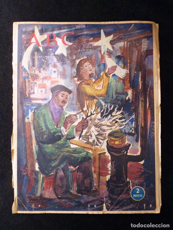Coleccionismo de Los Domingos de ABC: ABC EXTRA DOMINGO. 17 REVISTAS. JULIO A DICIEMBRE 1958. DOMINICAL DOMINGOS - Foto 18 - 110230339