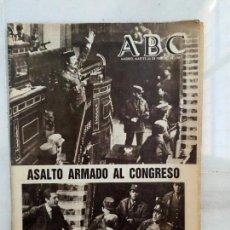 Coleccionismo de Los Domingos de ABC: PERIODICO PERIODICOS ABC MADRID 24 Y 25 DE FEBRERO 1981 GOLPE DE ESTADO TEJERO. Lote 110731054