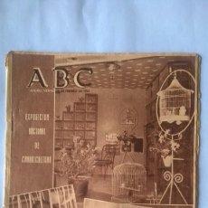 Coleccionismo de Los Domingos de ABC: PERIODICO ABC 18 FEBRERO 1955 . Lote 112303887