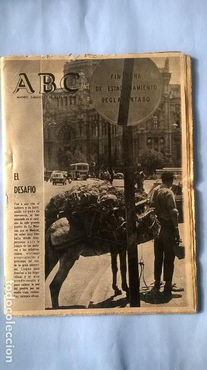 PERIODICO ABC 13 JULIO 1968 (Coleccionismo - Revistas y Periódicos Modernos (a partir de 1.940) - Los Domingos de ABC)