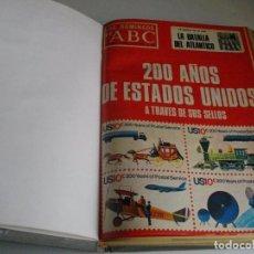 Coleccionismo de Los Domingos de ABC: LOS DOMINGOS DE ABC REVISTAS ENCUADERNADAS EN UN TOMO DE ENERO A JUNIO DE 1976 VER FOTOS. Lote 112979987