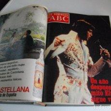 Coleccionismo de Los Domingos de ABC: LOS DOMINGOS DE ABC REVISTAS ENCUADERNADAS EN UN TOMO DE JULIO A DICIEMBRE 1978 VER FOTOS. Lote 112981035