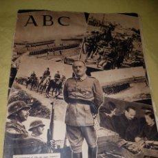 Coleccionismo de Los Domingos de ABC: ABC 1942 DIVISION AZUL ANUNCIO MARIQUITA PEREZ. Lote 114301763