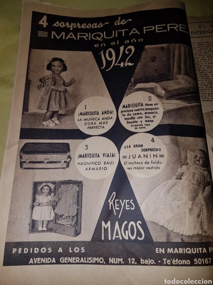 Coleccionismo de Los Domingos de ABC: Abc 1942 Division Azul anuncio Mariquita Perez - Foto 2 - 114301763