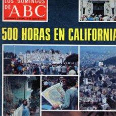 Coleccionismo de Los Domingos de ABC: LOS DOMINGOS ABC 1977 CALIFORNIA TICO MEDINA CHINITO DE FRANCIA TONY FRANCIOSA REVISTA. Lote 114435171