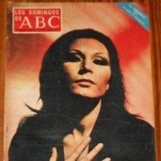 Coleccionismo de Los Domingos de ABC: LOS DOMINGOS DE ABC 1971 ROCIO JURADO INGMAR BERGMAN LAURA VALENZUELA MAGAZINE REVISTA. Lote 114436683