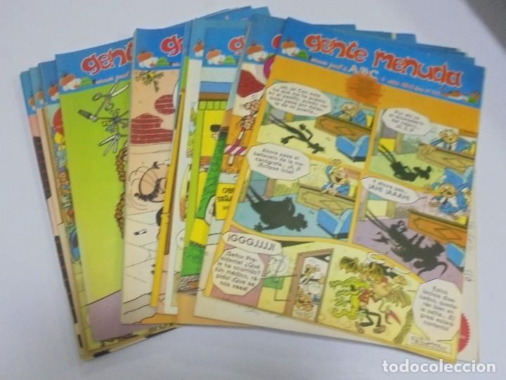 Coleccionismo de Los Domingos de ABC: GENTE MENUDA. SUPLEMENTO JUVENIL DE ABC. 330 NUMEROS DIFERENTES. PERFECTO ESTADO. VER - Foto 9 - 114877423