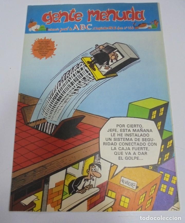 Coleccionismo de Los Domingos de ABC: GENTE MENUDA. SUPLEMENTO JUVENIL DE ABC. 330 NUMEROS DIFERENTES. PERFECTO ESTADO. VER - Foto 10 - 114877423