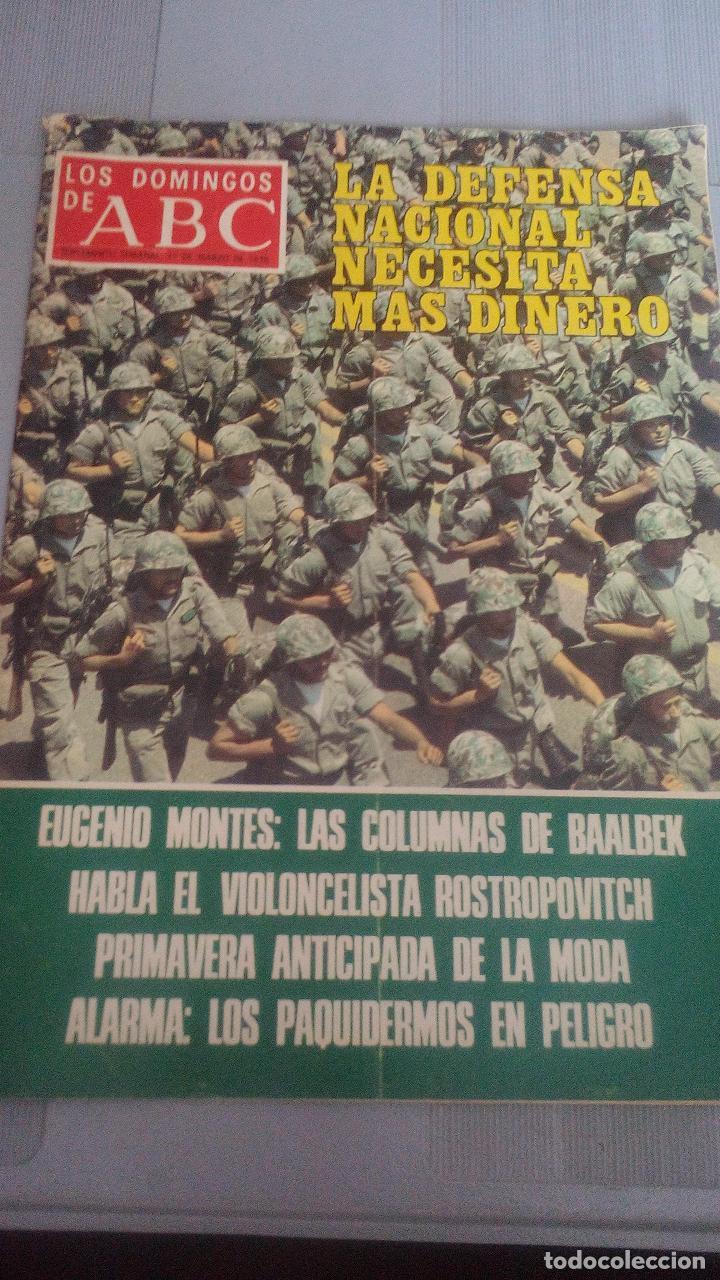 LOS DOMINGOS DE ABC - 12 MARZO 1978 (Coleccionismo - Revistas y Periódicos Modernos (a partir de 1.940) - Los Domingos de ABC)