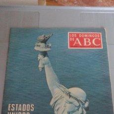 Collectionnisme de Los Domingos de ABC: LOS DOMINGOS DE ABC - 4 DE JULIO 1976 - ESTADOS UNIDOS CUMPLE 200 AÑOS - NUMERO ESPECIAL MONOGRÁFICO. Lote 115071559