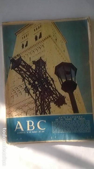 PERIODICO ABC 26 MARZO 1967 (Coleccionismo - Revistas y Periódicos Modernos (a partir de 1.940) - Los Domingos de ABC)