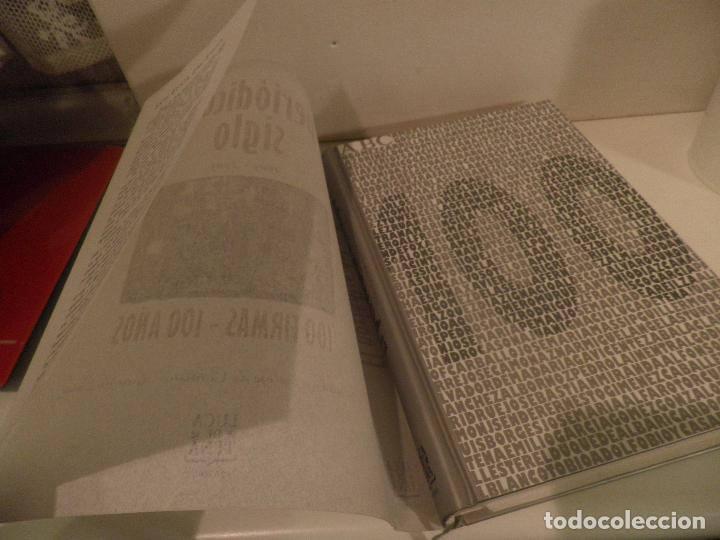 Coleccionismo de Los Domingos de ABC: EL PERIODICO DEL SIGLO 1903 - 2003 100 FIRMAS - 100 AÑOS EDICION LIMITADA. NUMERO 68467. - Foto 3 - 118679571