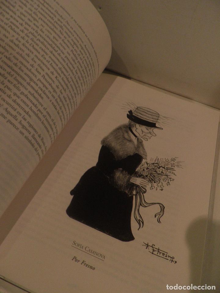 Coleccionismo de Los Domingos de ABC: EL PERIODICO DEL SIGLO 1903 - 2003 100 FIRMAS - 100 AÑOS EDICION LIMITADA. NUMERO 68467. - Foto 8 - 118679571