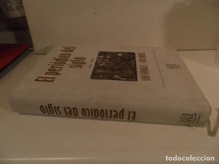 Coleccionismo de Los Domingos de ABC: EL PERIODICO DEL SIGLO 1903 - 2003 100 FIRMAS - 100 AÑOS EDICION LIMITADA. NUMERO 68467. - Foto 15 - 118679571