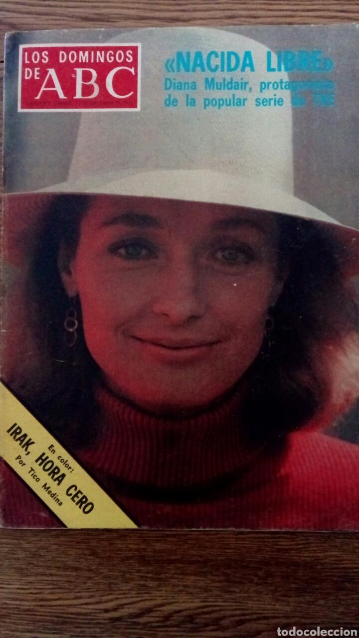 LOS DOMINGOS DE ABC. SEPTIEMBRE DE 1976. NACIDA LIBRE (Coleccionismo - Revistas y Periódicos Modernos (a partir de 1.940) - Los Domingos de ABC)