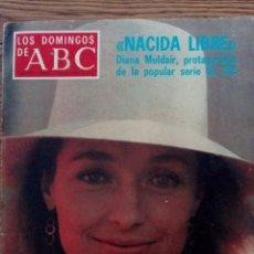 Collectionnisme de Los Domingos de ABC: LOS DOMINGOS DE ABC. SEPTIEMBRE DE 1976. NACIDA LIBRE. Lote 118708035