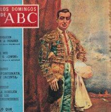 Coleccionismo de Los Domingos de ABC: LOS DOMINGOS DE A B C - 17 MAYO 1970 - PORTADA: JOSELITO. Lote 119064159
