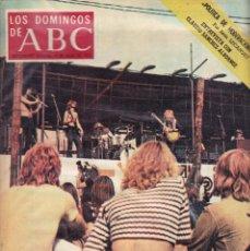 Coleccionismo de Los Domingos de ABC: LOS DOMINGOS DE A B C - 9 JULIO 1972 - LA GRAN FIESTA POP. Lote 119065747