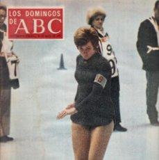 Coleccionismo de Los Domingos de ABC: LOS DOMINGOS DE A B C - 28 MAYO 1972 - EN PORTADA: BEATRIX SCHUBA. Lote 119066227