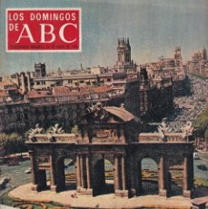 Coleccionismo de Los Domingos de ABC: LOS DOMINGOS DE A B C - 24 MAYO 1970 - HAY QUE LAVARLE LA CARA A MADRID. Lote 119067171