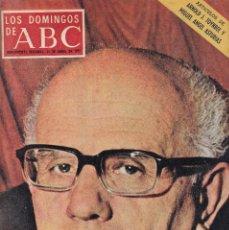 Coleccionismo de Los Domingos de ABC: LOS DOMINGOS DE A B C - 16 ABRIL 1972 - EN PORTADA ROF CARVALLO. Lote 119067291