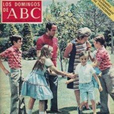 Coleccionismo de Los Domingos de ABC: LOS DOMINGOS DE A B C - 2 JULIO 1972 - EN PORTADA: LOPEZ BRAVO. Lote 119067347